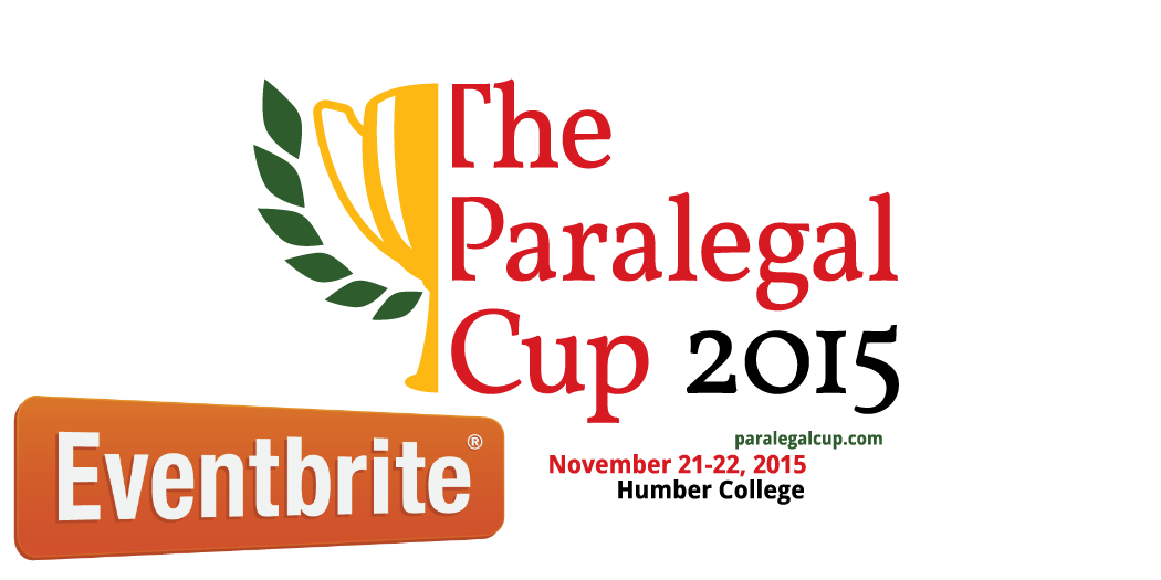 Paralegal Cup on EventBrite