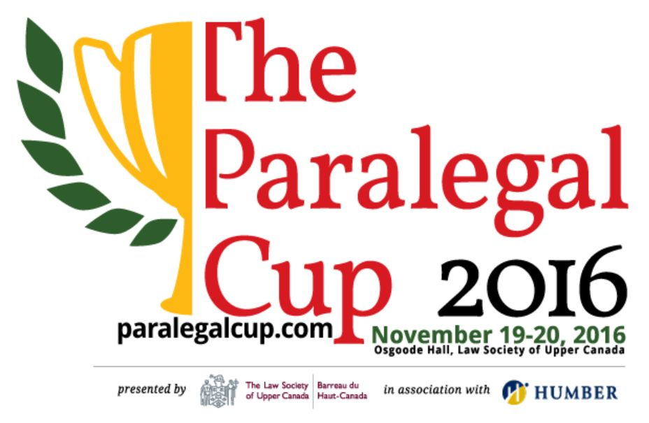 The 2016 Paralegal Cup