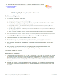 Official 2014 Competition Rules